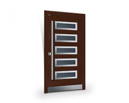 Top Design INOX | Top Design WOOD, Holztüren PARMAX
